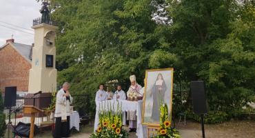 Msza święta pod kapliczką św. Rocha