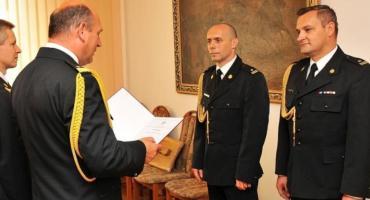 Rafał Garbarz już oficjalnie wicekomendantem PSP w Łowiczu