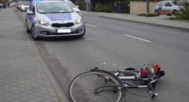Kolizje z udziałem rowerzystów na Łęczyckiej