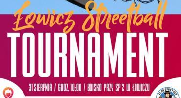 Turniej koszykówki ulicznej 3x3 na zakończenie sportowych wakacji w Łowiczu