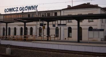 Peron numer 1 na stacji Łowicz Główny gotowy do przyjęcia podróżnych (ZDJĘCIA)