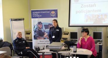 Spotkanie dotyczące służby w Policji