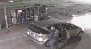 Policjanci poszukują złodzieja butli gazowych (ZDJĘCIA Z MONITORINGU)
