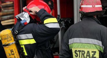 Straty po pożarze w budynku przy ul. Podrzecznej sięgają 150 tys. zł