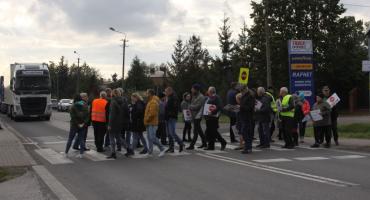 Społeczny komitet mieszkańców Zatorza podsumował pierwsze blokady na DK nr 70