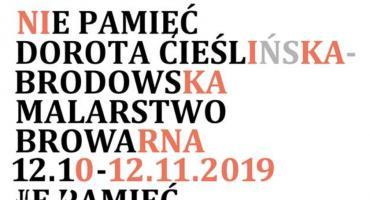 Wernisaż wystawy malarstwa Doroty Cieślińskiej-Brodowskiej w Łowiczu