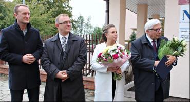 Zarząd Powiatu Łowickiego złożył podziękowania posłowi Tadeuszowi Woźniakowi