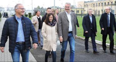 Niemieccy więziennicy odwiedzili Zakład Karny w Łowiczu