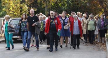 Spacer szlakiem literackim w Łowiczu (ZDJĘCIA, VIDEO)