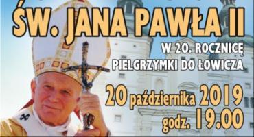 W niedzielę koncert ku czci św. Jana Pawła II w 20. rocznicę pielgrzymki do Łowicza