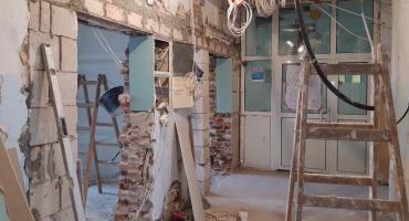 Trwają prace remontowe na oddziale pediatrycznym (FOTO i VIDEO)