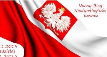 Ostatni dzwonek na zapisanie się na I Nocny Bieg Niepodległości w Łowiczu