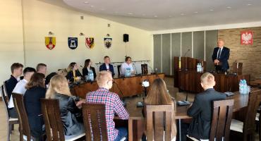 I Sesja Młodzieżowej Rady Powiatu Łowickiego