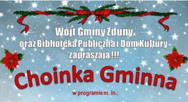 Choinka Gminna w Zdunach - zaproszenie