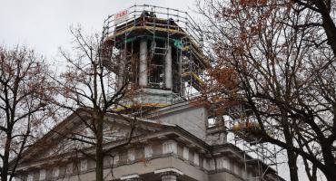 Galeria Browarna w Łowiczu poddawana jest renowacji