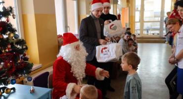 Mikołaj odwiedził łowicki szpital (FOTO I VIDEO)