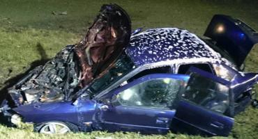 Wypadek w Chrzczanach: mieszkaniec Kampinosu jechał pod prąd