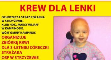 OSP Strzyżew: córeczka strażaka potrzebuje naszej pomocy