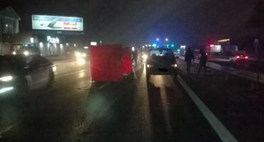 Śmiertelny wypadek na Siódemce, gmina Łomianki
