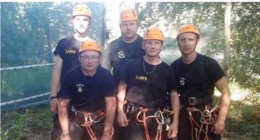 Strażacy z Kampinosu wicemistrzami regionu! Brawo!