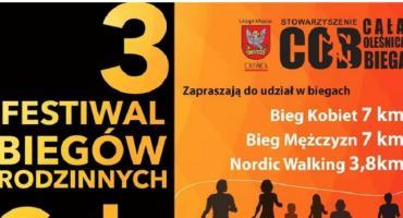 3 Festiwal Biegów Rodzinnych Cała Oleśnica Biega