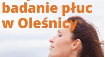 Bezpłatne badania spirometryczne w Oleśnicy już jutro