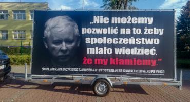 Konwój wstydu zawitał do Oleśnicy