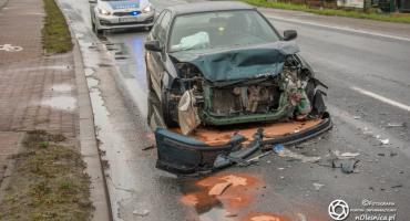 Zderzenie dwóch aut na Wojska Polskiego