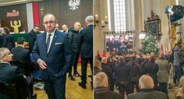 Burmistrz Oleśnicy uczestniczył dziś w uroczystościach pogrzebowych prezydenta Gdańska