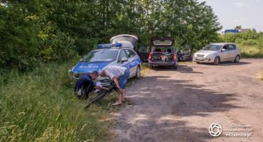 Potrącenie rowerzysty i ucieczka sprawcy