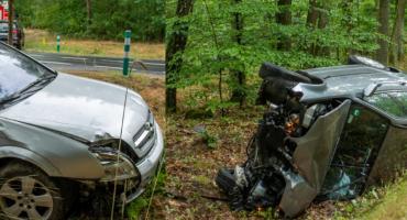 Dwa zdarzenia na drodze DK25