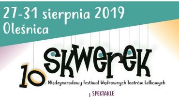 Międzynarodowy Festiwal Wędrownych Teatrów Lalkowych SKWEREK już wkrótce