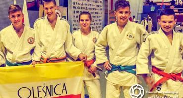 Oleśniccy judocy na podium
