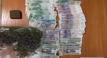 Tymczasowy areszt dla dilera narkotykowego - policjanci przechwycili kilkaset porcji marihuany i has