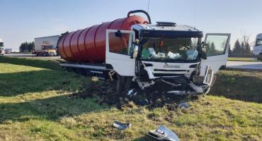 Wypadek cysterny. Zablokowana autostrada A4!