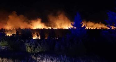 Olbrzymi pożar w Karkonoszach. W akcji gaśnicznej brali udział czescy i polscy strażacy