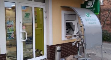 W Krośnicach bankomat wyleciał w powietrze