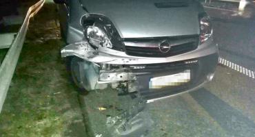 Auto dostawcze zderzyło się z osobowym na A4