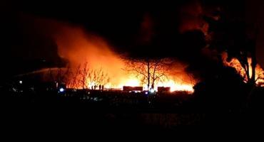 Kontrole składowisk po pożarze na Szczecińskiej