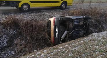 Auto leżało w rowie przez dwa miesiące