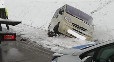 Trudne warunki na autostradzie A4