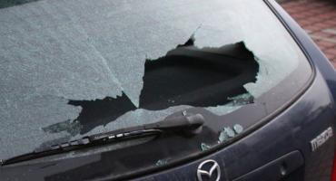 Jeździli po mieście i strzelali do samochodów. Uszkodzili 13 aut