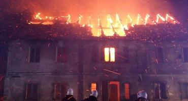 Pożar w Rogoźnicy