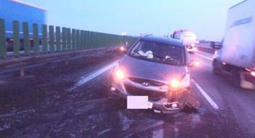 Seria wypadków na autostradzie A4. Duże utrudnienia w ruchu