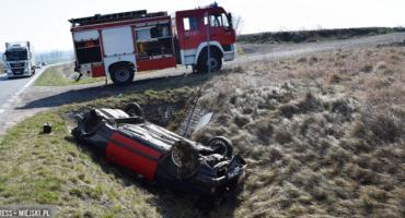 Zderzenie dwóch samochodów w Ząbkowicach