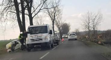Zderzenie trzech aut pod Wrocławiem