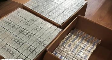 22 tys. nielegalnych papierosów w mieszkaniu wrocławskiego dilera
