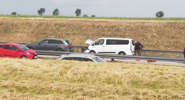 Poważny wypadek na A4. Lądował śmigłowiec LPR