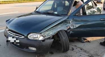 Wypadek na A4 od Wrocławiem