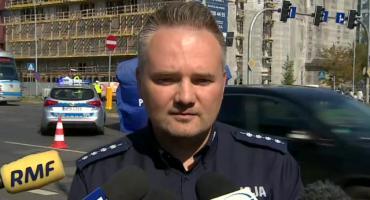 Rzecznik policji o wypaku na Legnickiej